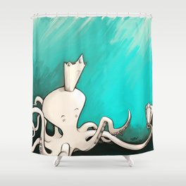 Octoking Shower Curtain