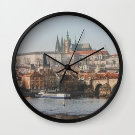 City of Prague Wall Clock