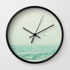 Lone Bird Wall Clock