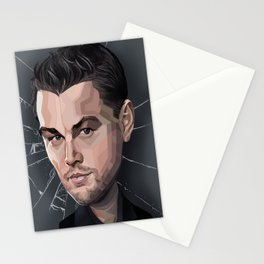 DiCaprio Caricature Stationery Cards