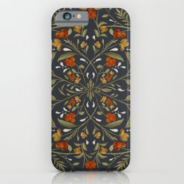 Muted Florals iPhone Case
