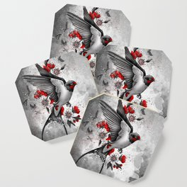 swallows and sakuras Coaster