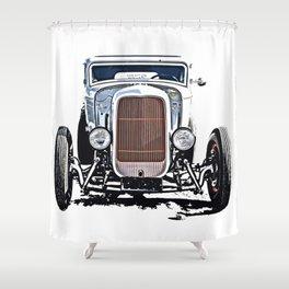 Hot Rod 1932 Shower Curtain