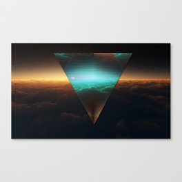 A.I Space Canvas Print