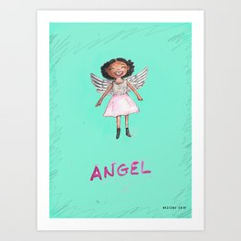 Appealing to your better angels Art Print