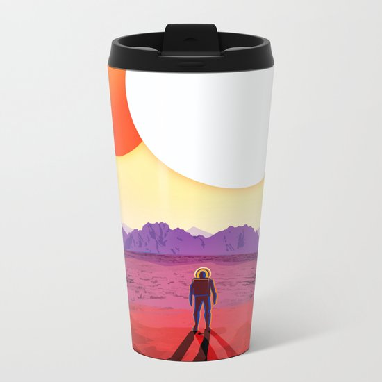NASA/JPL Poster (Kepler #1) Metal Travel Mug