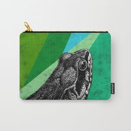 Tropical frog Carry-All Pouch