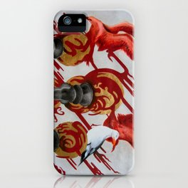I'd sail to the highest perch on your roof iPhone Case