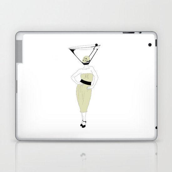 LIQUID DINNER PARTY DARLING, ANOTHER MARTINI? Laptop & iPad Skin