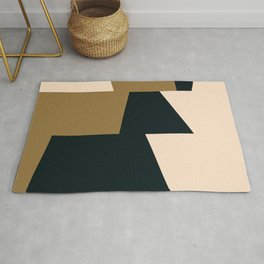 High contrast abstract Rug