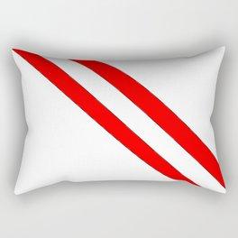 Flag of peru 2-Peruvian, Lima, latin america,america, quechua,aymara, andean, Arequipa,Piruw Rectangular Pillow