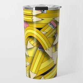 Pencil Stack Travel Mug