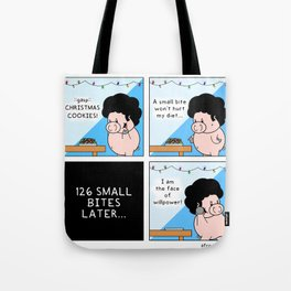 Willpower for Christmas Tote Bag