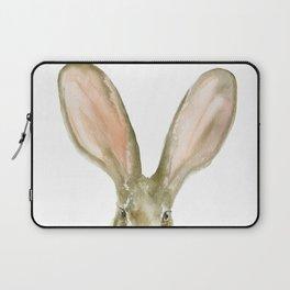 Jack Rabbit Watercolor Laptop Sleeve