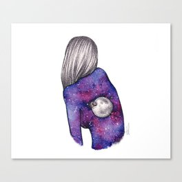 Every person is a world III Canvas Print
