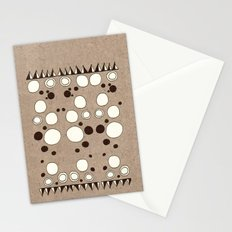 Rorschach Pyramids Stationery Cards