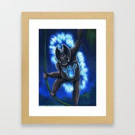 Nocturnatan Framed Art Print