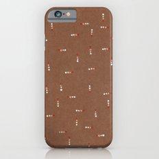 Canvas Dot Line Design iPhone 6s Slim Case