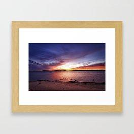 Cotile Sunset Framed Art Print