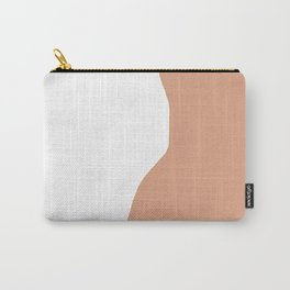 Nude silhouette figure - Nude pink 001 Carry-All Pouch