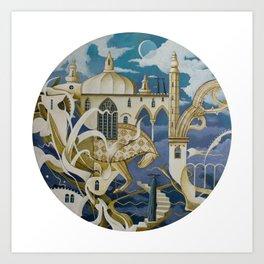 Metamorphic Dream Art Print