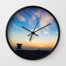 Wish They All Could Be California...Sunsets Wall Clock