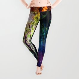 rainbow rain Leggings