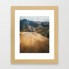 Iceland Highlands Framed Art Print