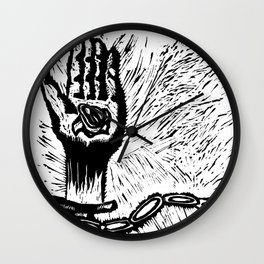 Free Your Chain Wall Clock