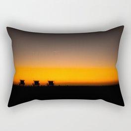 Guarding Venice Rectangular Pillow