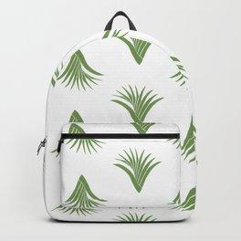 Pandanus Leaf Pattern - Green Backpack