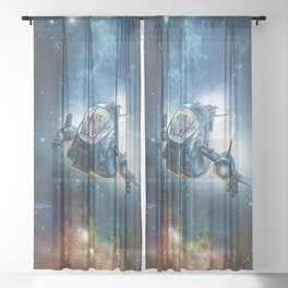 The Scout Ship Sheer Curtain