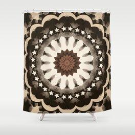 Ouija Wheel of Stars - Beyond the Veil Shower Curtain