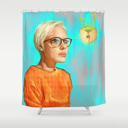 Apple Dream Shower Curtain