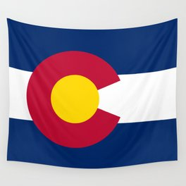 Colorado State Flag Wall Tapestry