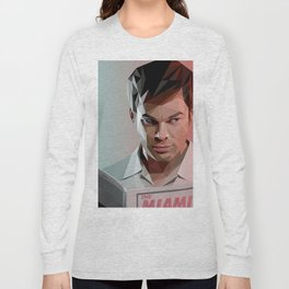 Low Poly Dexter Long Sleeve T-shirt