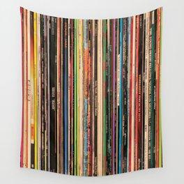 Alternative Rock Vinyl Records Wall Tapestry