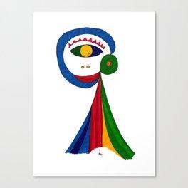 Picaesk #01 Canvas Print