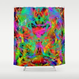 The Gremlin Started A Fire Shower Curtain