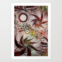 holiday Art Prints featuring Holiday by Klara Acel