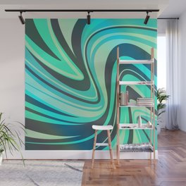 Surfing Wall Mural