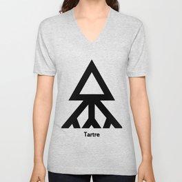 Alchemy Symbol Tartre Unisex V-Neck