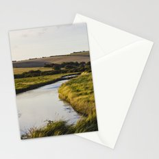 Cuckmere river Stationery Cards