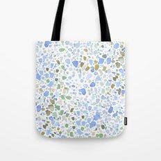 Magic Terrazzo Blue Tote Bag