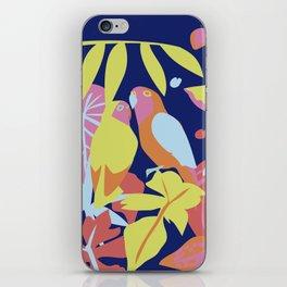 Tropical Birds iPhone Skin