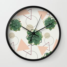 Lovely Succulents #redbubble #decor #buyart Wall Clock