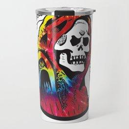 Hippie Grim Travel Mug