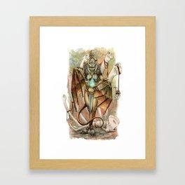 Bone Grower Framed Art Print
