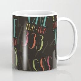 1 2 3 One Two Three Coffee Mug