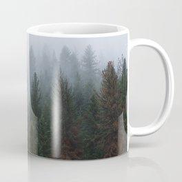 Into the Deep, Foggy, Forest Coffee Mug
